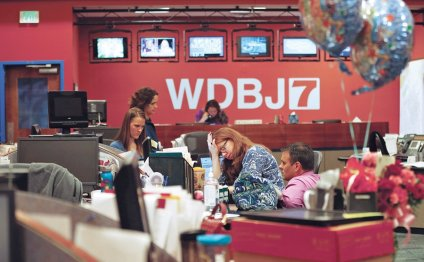 WDBJ-TV Staff in Roanoke