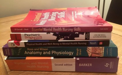 Mental health nursing books