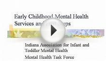 Early Childhood Mental Health Services And First S